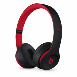 2e29af3cdaf Apple Beats Solo3 mobile headset Binaural Head-band Black,Red (Beats Solo3  - The Beats Decade Collection - headphones with mic - on-ear - Bluetooth ...