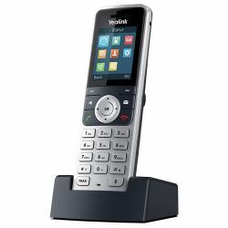 1fdfe0cfd5b Yealink W53H τηλεφωνική συσκευή DECT telephone handset Αναγνωριστικό  καλούντος Μαύρος (Μαύρο), Άργυρος (YEALINK W53H WIRELESS DECT ADD HANDSET)